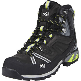 Millet High Route GTX Chaussures Homme, charcoal/acid green